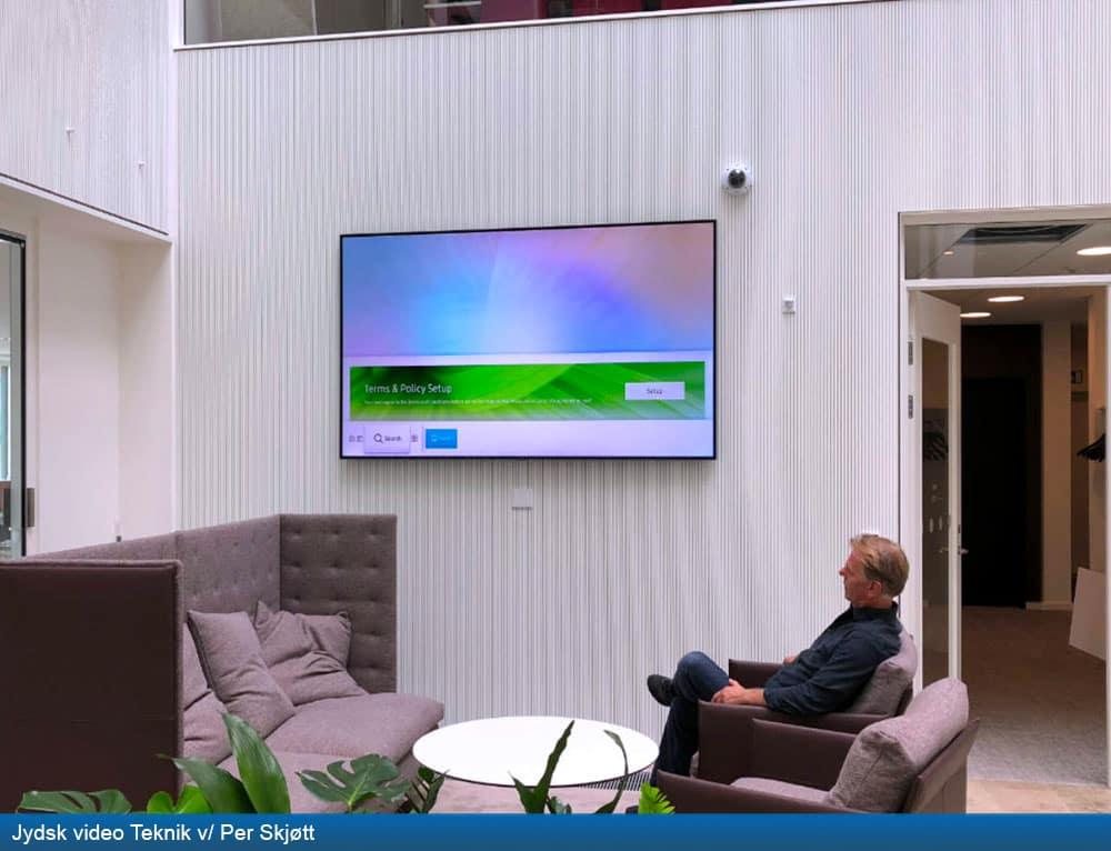 Jysk video teknik ved per skjøtt
